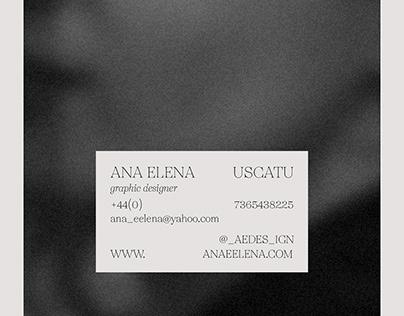 Personal Branding | Ana Elena Uscatu
