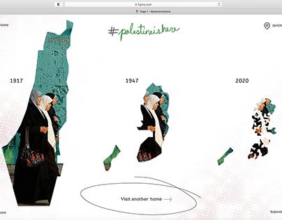 Protest Design #palestineishere