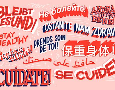 Hand-Lettering Illustration for 51 Magazine