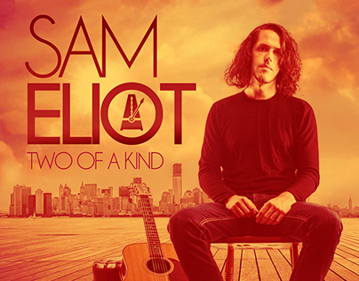 "SAM ELIOT ""Two of A Kind"" CD artwork"