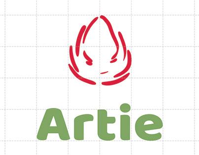 Artie - Artichoke Tea Branding