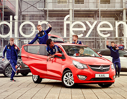 Feyenoord and Opel Campaign