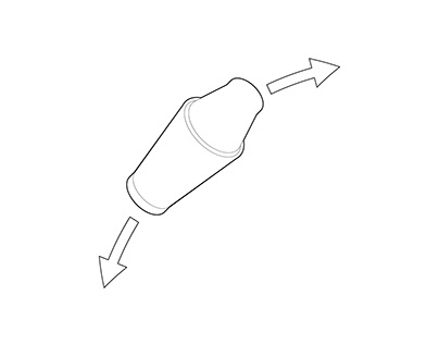 Cocktail Shaker Isometric