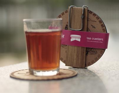 Tea Coaster packaging