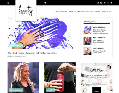 Beauty Coach Branding & Design
