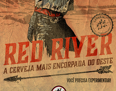 Red River Beer Poster