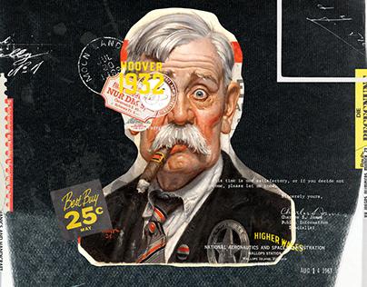 Collage Artwork 277-279