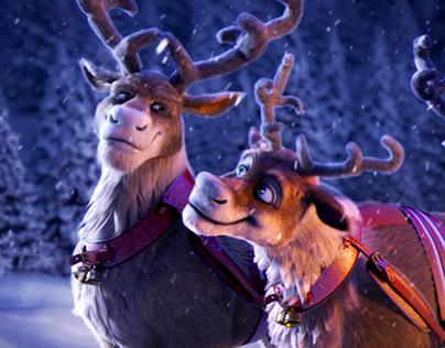 Reindeers spot