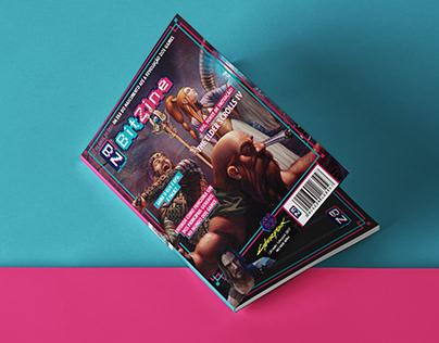 Diagramação de revista - Magazine layout - Capa/Cover
