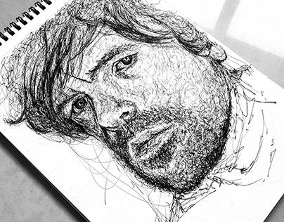 Scribble portraits
