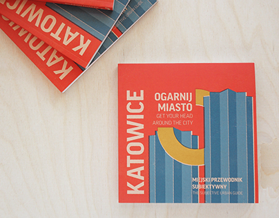 Illustrations and cover to Katowice city guide