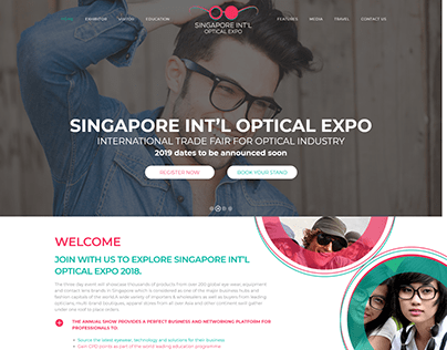 eCOMMERCE WEBSITE FOR OPTICAL EXPO