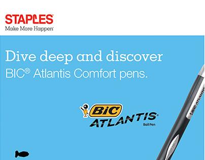 BIC Atlantis - Pen of the Month - Staples