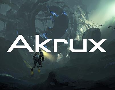 Akrux | Typeface