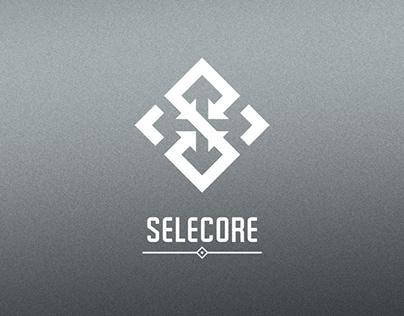 Selecore - Logo design process