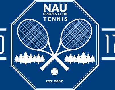 NAU Tennis club Logo design