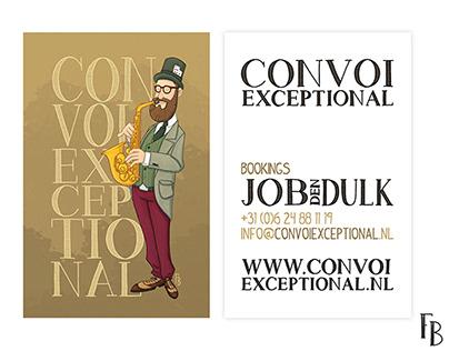Visitekaartje Convoi Exceptional