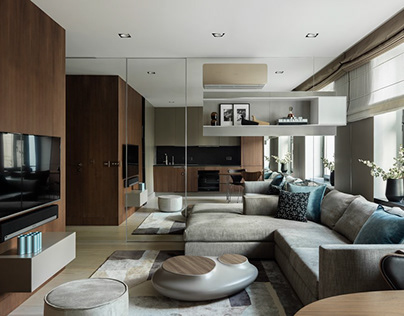 Apartment in Moscow by Ivan Kachalov