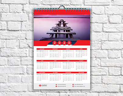 Free Calendar Mockup Download