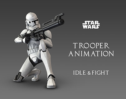 Trooper Animation (Idle & Fight)