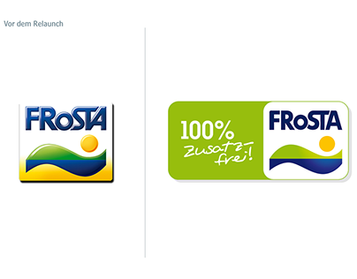 Frosta Corporate & Packaging Relaunch
