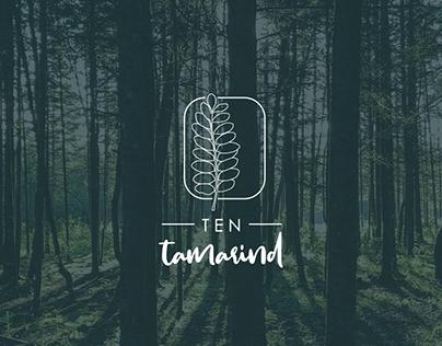 Ten Tamarind Logo design | Brand Identity | Branding