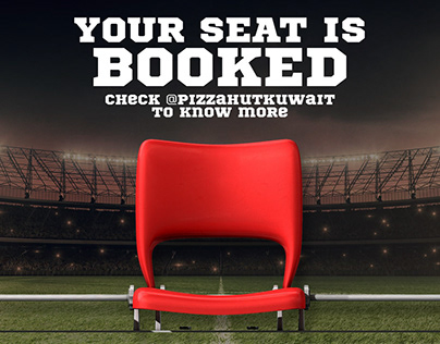 Your Seat is booked - Campaign
