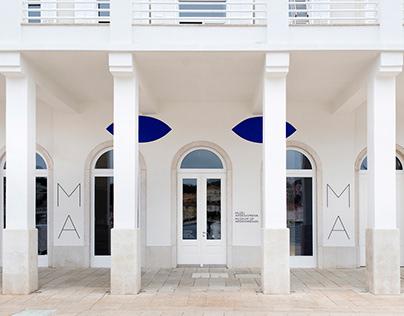 Museum of Apoxyomenos visual identity