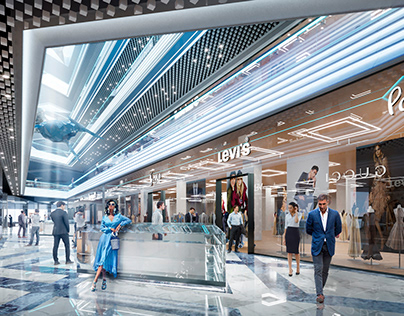 Ocean Mall concept by AVG group