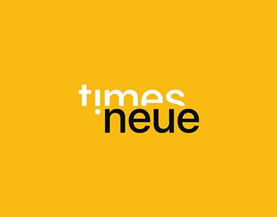 Times Neue - Magazine Design