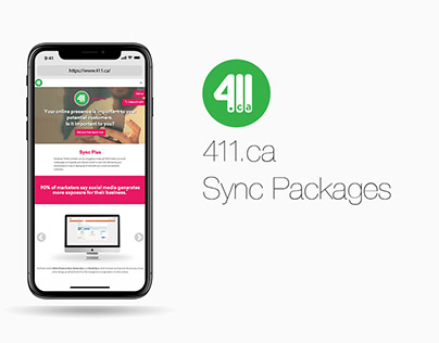 411.ca Sync Packages