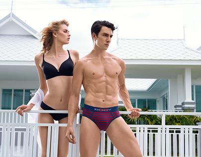 BodyX Men's InnerwearPrint Campaign