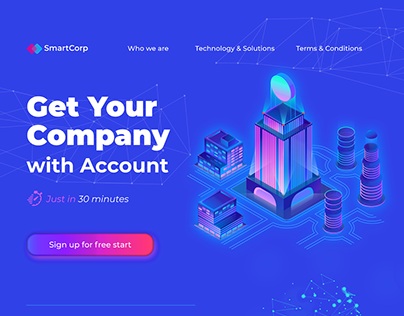 SmartCorp   Web Site