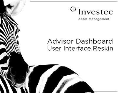Investec Asset Management Dashboard UI