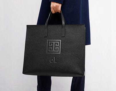 el. Bags Logo Redesign and Pattern Design