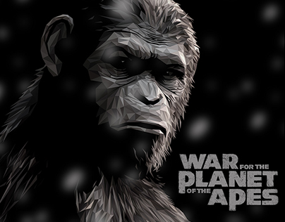 War For The Planet of The Apes - Official poster