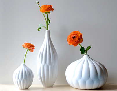 Textured Vase Collection