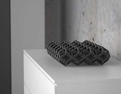 Sculptural high-end heat sinks