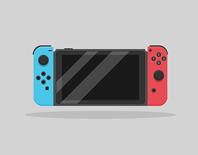 Nintendo Switch Vector Graphic