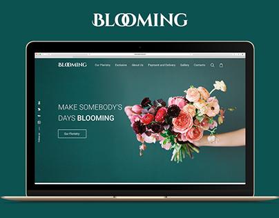 Blooming website