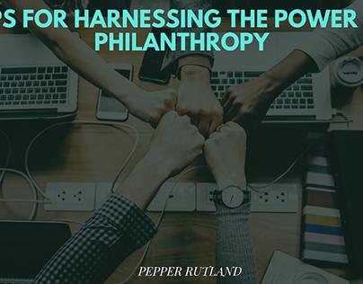 Pepper Rutland discusses Harnessing Power