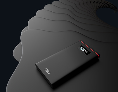 C1 Power bank , Product visualization.