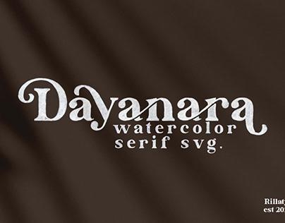 Dayanara - Watercolor SVG