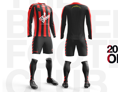Bohemian Football Club Kit Design
