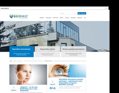 Various web design 2014-2016