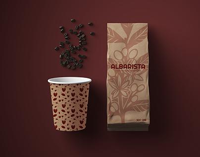 / branding - albarista cafe