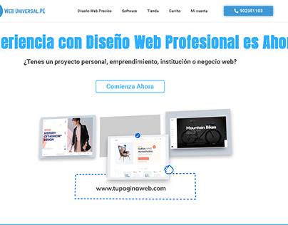 Diseño Web Perú Profesional