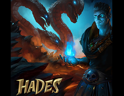 Hades Gigablox illustrations.