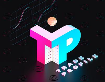 TRADEPROFILE – UX, LANDING, LOGOTYPE, 3D ILLUSTRATIONS