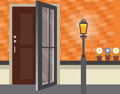 Illustrated web banners